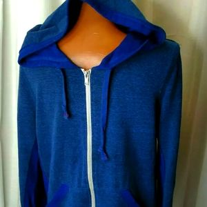 Abbott Main Venice Beach Blue Dazzle Hooded Jacket